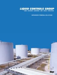 Terminal Product Overview - Liquid Controls