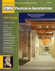 July 2010 - Concrete Masonry Association of California and Nevada