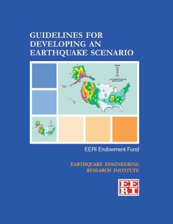 Guidelines for Developing an Earthquake Scenario