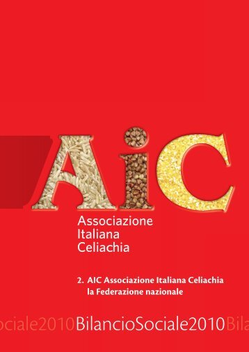 BILANCIO AIC-INT OK.indd - Associazione Italiana Celiachia