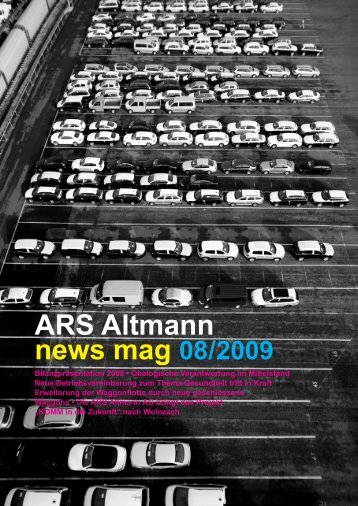 Unsere neue Kantine Bon Appetit! - ARS Altmann