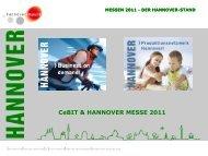 CeBIT & HANNOVER MESSE 2011 - hannoverimpuls