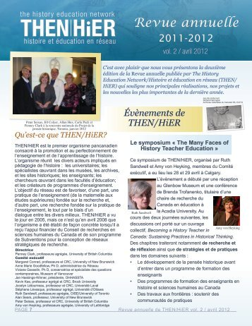 Revue annuelle 2011-2012 - The History Education Network