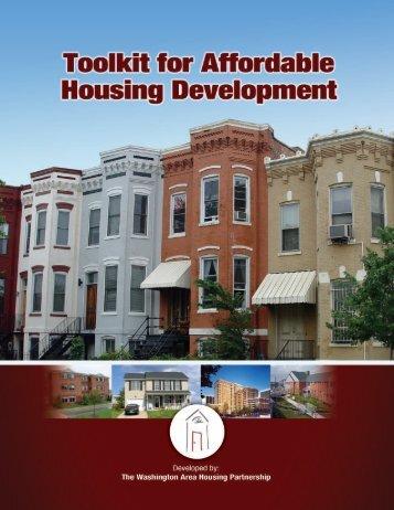 Toolkit for Affordable Housing Development - Metropolitan ...