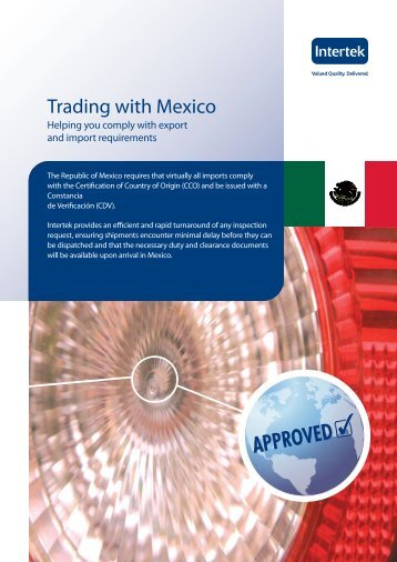 Advice on Trading with Mexico - Intertek
