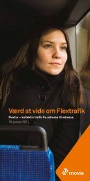 Flextrafik Flextur - Movia