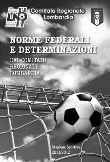 Normative Federali Comitato Regione Lombardia - Usvellezzobellini.it