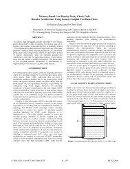 Memory-based low density parity check code decoder ... - KAIST
