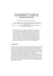 Learning to Integrate Web Taxonomies with Fine ... - Academia Sinica