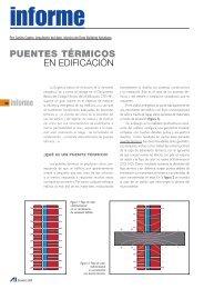 Puentes térmicos en edificación - Andimat