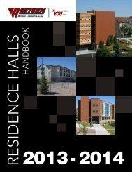 Residence Halls Handbook - Western Wyoming Community College