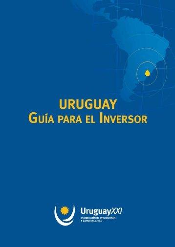 GUíA pARA el InveRsoR - Uruguay XXI