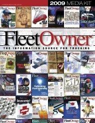 2009 MEDIA KIT - Fleet Owner