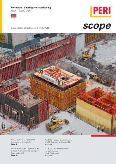 Formwork, Shoring and Scaffolding Issue 1 - PERI Formwork