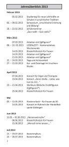 Programm_2013 - ursulinen-duderstadt - Seite 3