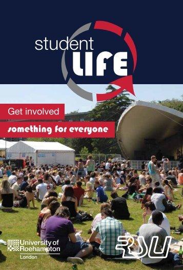 Student Life Guide - University of Roehampton
