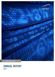 Annual Report 2011 - English - Zenitel