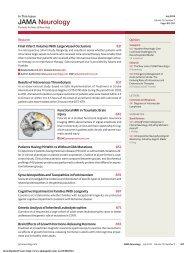 JAMA Neurology - AMA Publishing Group