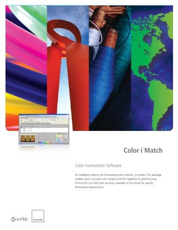 Color i™Match - X-Rite