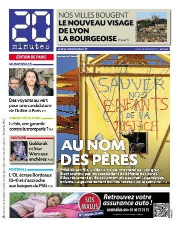 LE NOUVEAU VISAGE DE LYON LA BOURGEOISE P ... - 20 Minutes