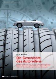 Die Geschichte des Autoreifens, TÃœV TIMES 3/2012, S.8-11