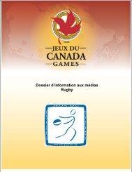 Dossier d'information aux médias Rugby