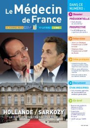 Médecin de France n°1185 - CSMF