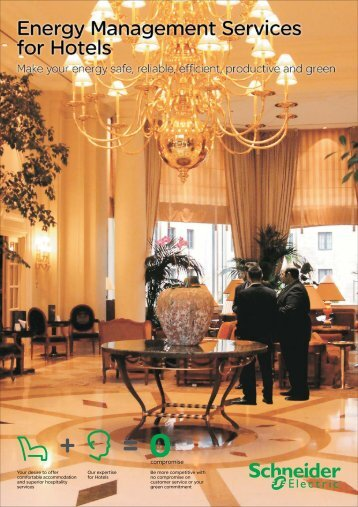 Professional Services India Hotels brochure - Schneider Electric