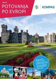 Katalog Potovanja po Evropi v pdf obliki - Kompas