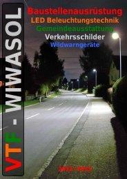 LED Beleuchtungstechnik - VTF-WIWASOL