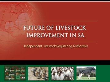 future of livestock improvement in sa - The Brangus Cattle Breeders ...