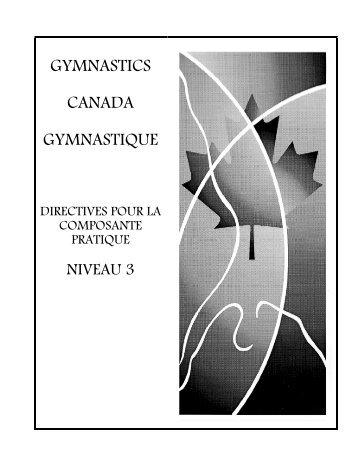 gymnastics canada gymnastique programme national de ...