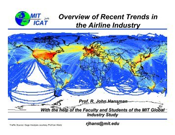 Overview of Recent Trends in the Airline Industry