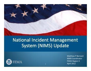 NIMS - WSU Conference Management