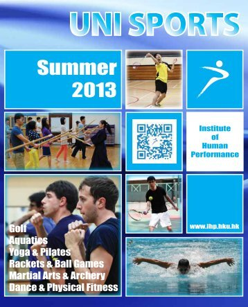 UNI-SPORTS Summer 2013 - Institute of Human Performance - The ...