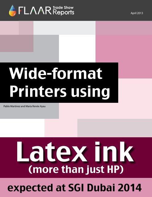 Wide-format Printers using - large-format-printers.org