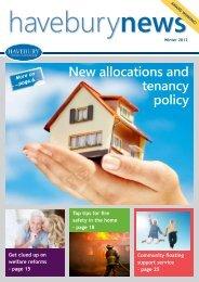 Winter 2012 - Havebury Housing Partnership