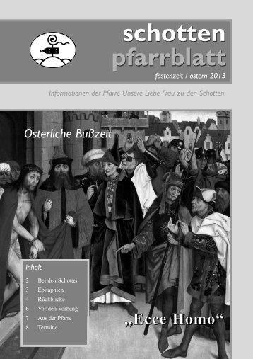 Ausgabe Nr. 42, Fastenzeit 2013 - Schottenpfarre