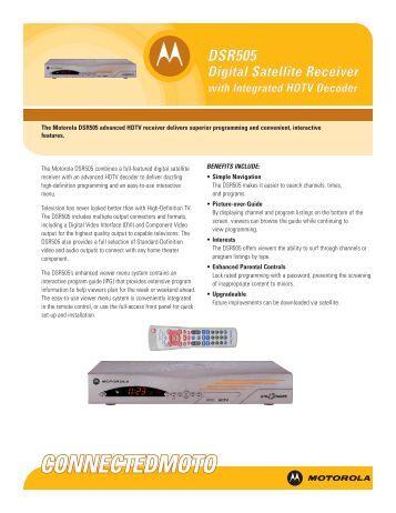 Dsr505 manual shaw Direct