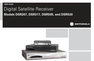 Digital Satellite Receiver - Shaw Direct
