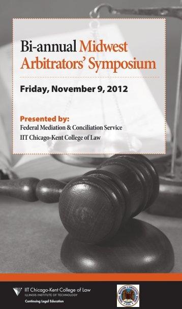 Bi-annualMidwest Arbitrators' Symposium - FMCS