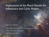 Implications of the Planck Results for Inflationary and Cyclic Models