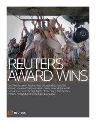 Reuters Award Wins - Thomson Reuters