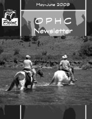 Spring Cleaning Time - Ohio Paint Horse Club