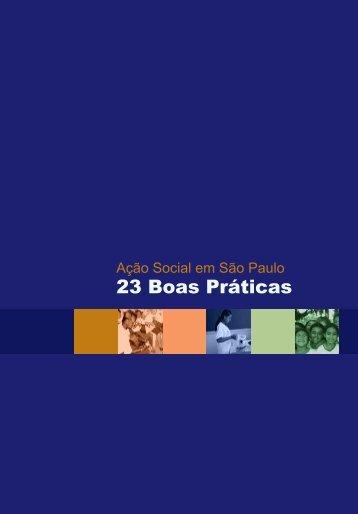23 Boas Práticas - Secretaria de Desenvolvimento Social - Governo ...