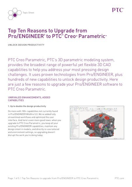 c716e3225129 Why Update from Pro ENGINEER to Creo® Parametric 2.0  - Inneo