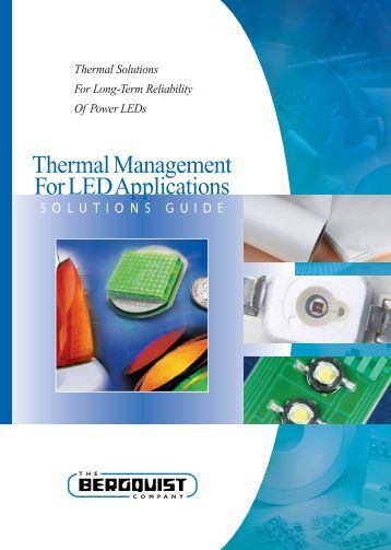 Thermal Management for LED applications - Welt Electronic