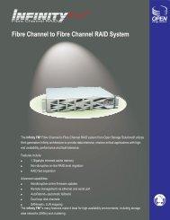 Fibre Channel to Fibre Channel RAID System - Open Storage ...