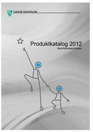 Produktkatalog 2012 - Lenvik kommune