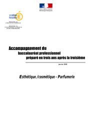 mutualisation d' experiences bac pro ECP 3 ans - SBSSA ...